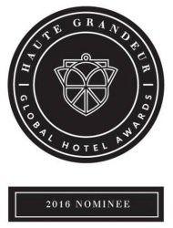 Haute Grandeur Global Hotel Award 2016