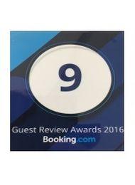 2016 Booking Dot Com Award Winner