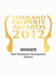 Thailand property awards 2012 best residential development Koh Samui CODE – Winner