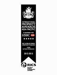Asian Pacific Property Awards 2012 Best Interior Design Thailand CODE – Winner