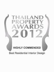 Thailand Property Awards 2012 Best Residential Interior Design Thailand PANU – Highly Commended