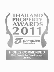 South East Asian Property Awards 2011 Best Residential Development Koh Samui PANU – Highly Commended