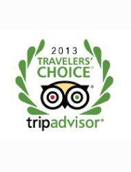 The 'Trip Advisor Traveller's Choice Award 2013