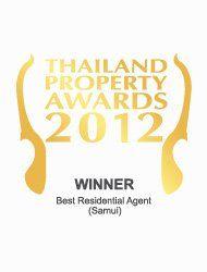 Thailand Property Awards 2013 Best Residential Agent Koh Samui KALARA – Winner