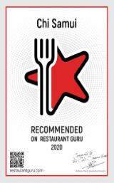 2020 Restaurant Guru recommended