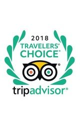 2018 Trip Advisor Travelers Choice Award Winner