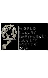 2018 World Luxury Restaurant Awards Winner