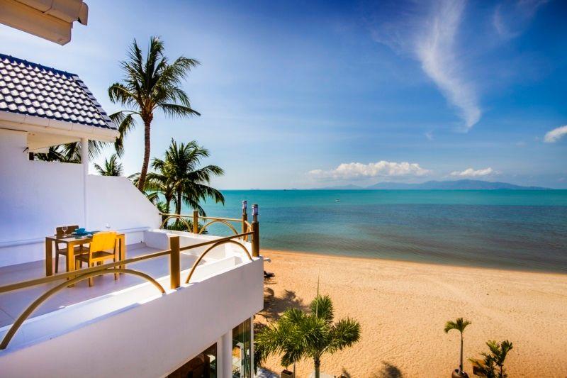 B1 Beach Front Apartments Bophut Koh Samui