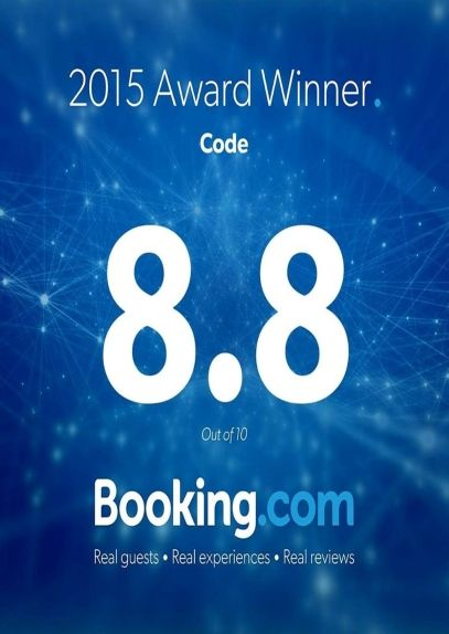 Booking Dot Com Guests Review Awards 2015 LANNA