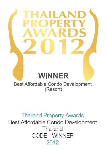 2012 Thailand Property Awards: Best Afforable Condominium Development Thailand CODE